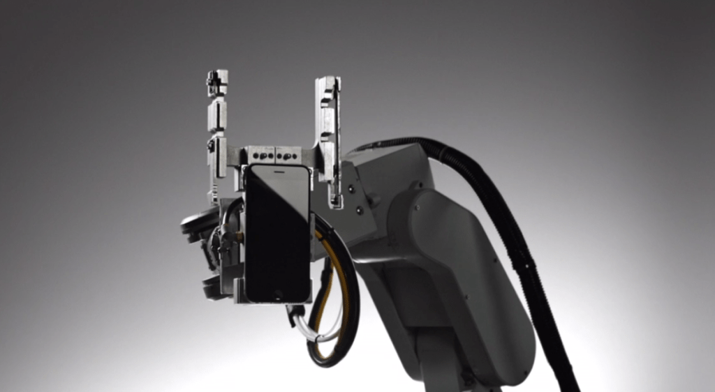 Apple's Liam, a robot designed to break down Apple products more efficiently