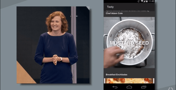 Screenshot via Google I/O 2016 Keynote Instant Apps