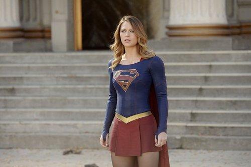 Melissa Benoist as Kara aka Supergirl
