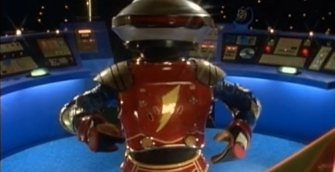 Alpha 5 from Power Rangers