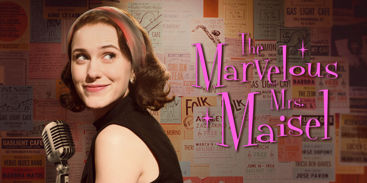 The Marvelous Mrs. Maisel is charming fun