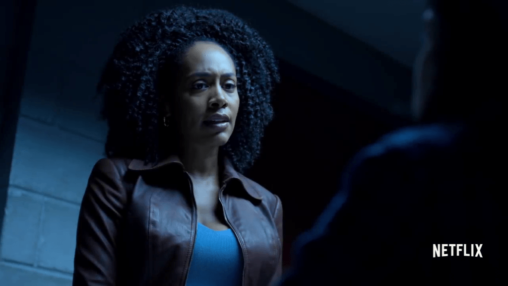Misty Knight, Jessica Jones - Defenders Trailer