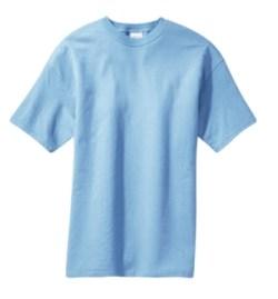 Blue men's t-shirt