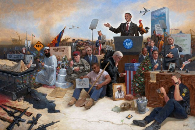 Obamanation One Painting That Says It All