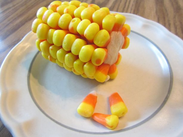 How to Make Candy Corn on the Cob