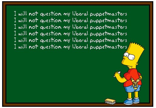 Liberal Puppetmasters