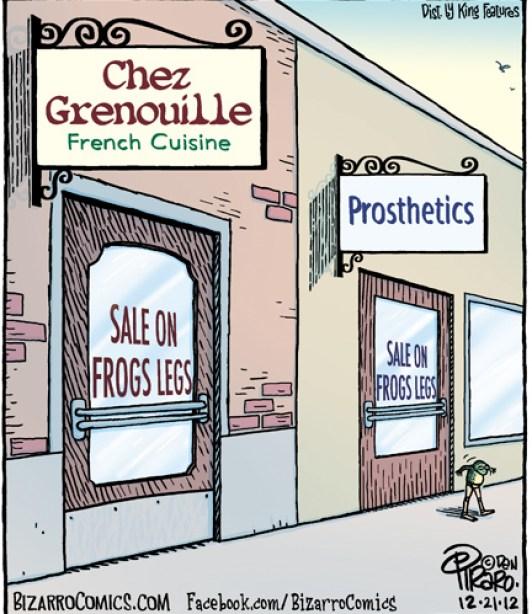 Sale On Frogs Legs