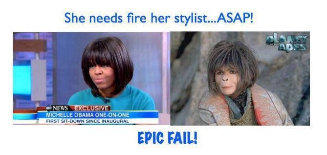 Michelle Obama Epic Fail
