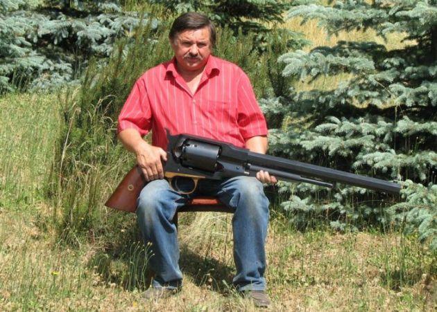 World's Largest Revolver