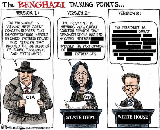 The Benghazi Talking Points