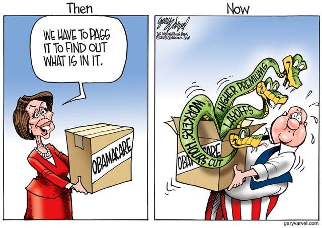 ObamaCare Then And Now