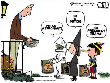 Trick Or Treat Obama