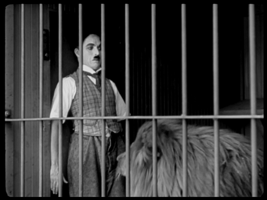 Charlie Chaplin -The Lion's Cage