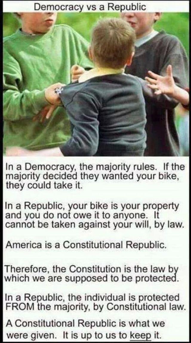 Democracy Versus Republic