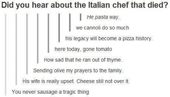 The Italian Chef That Died