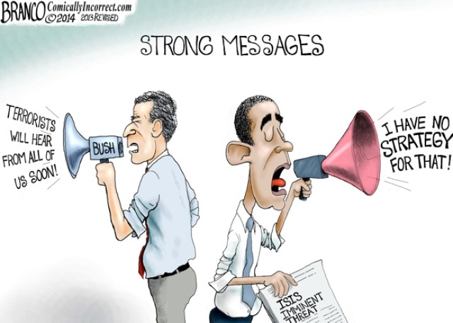 The World Is Listening - Strong Messages - Obama No-Strategy