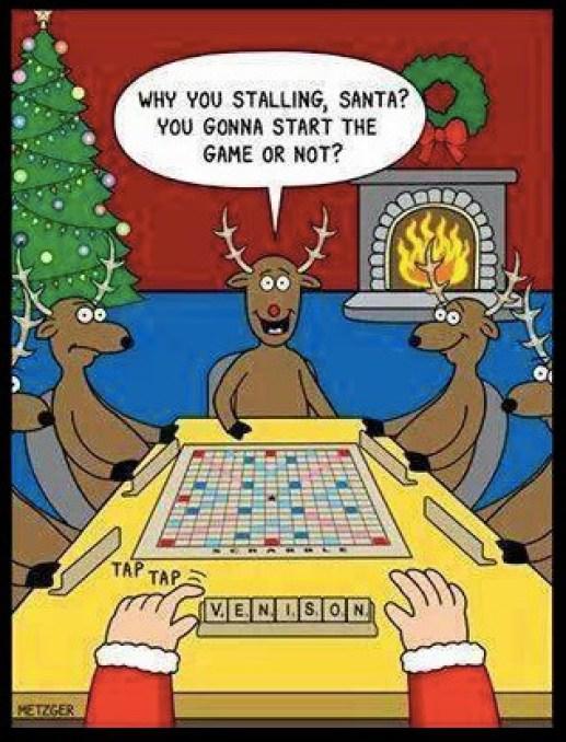 Santa Scrabble