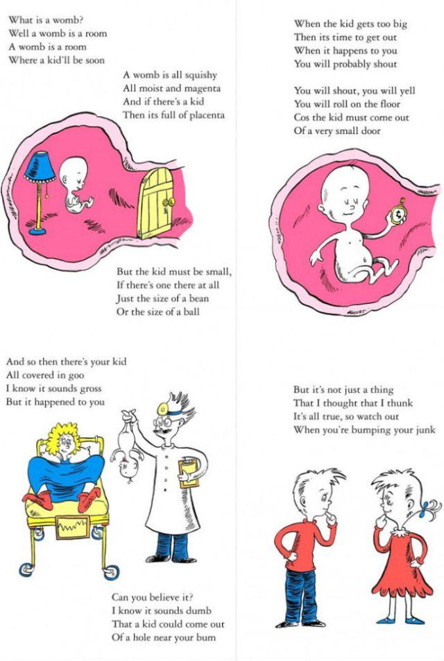 Dr. Seuss Explains Pregnancy