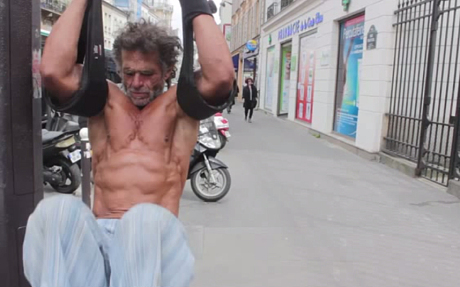Homeless Bodybuilder Jacques Sayagh