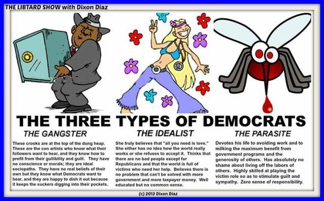 Three Types Of Democrats