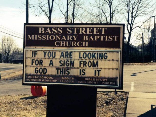 Funny Church Signs 5