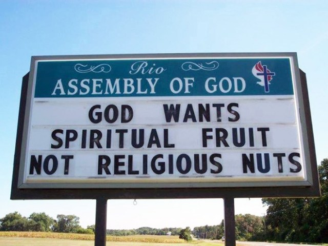 Funny Church Signs 6