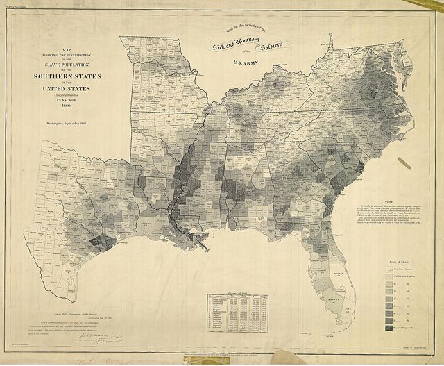A Map of American Slavery