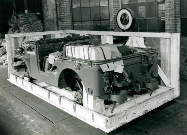 How Jeeps Were Shipped During World War II 3