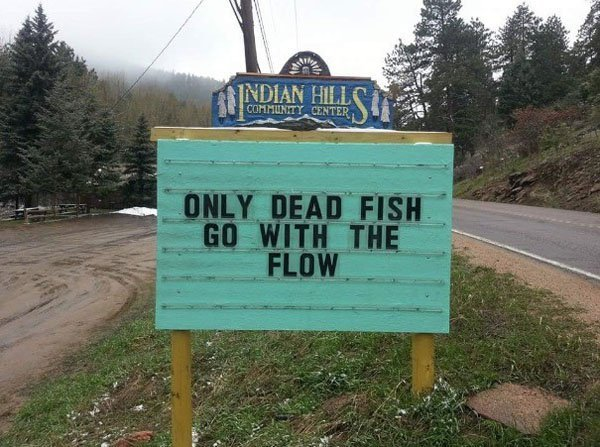Sign Of The Day: Dead Fish