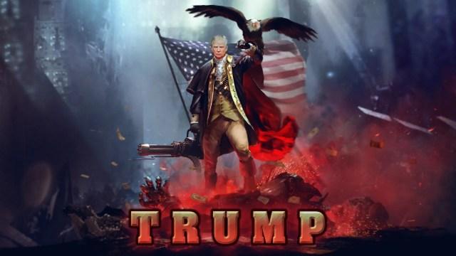 Patriotic Trump