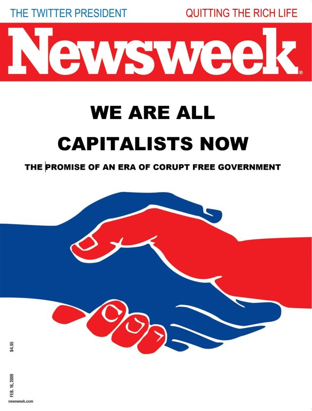 We Are All Capitalists Now - Newsweek