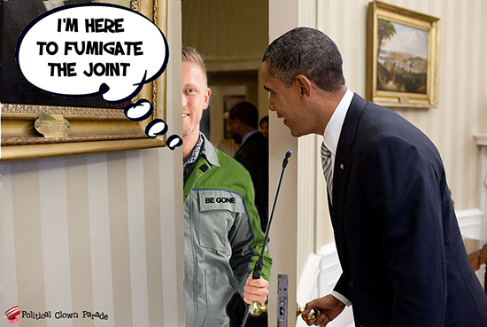 At Obama's Door Cleaner