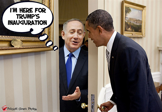 At Obama's Door Israel