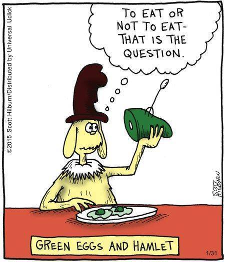 Cartoon Of The Day: To Eat Or Not