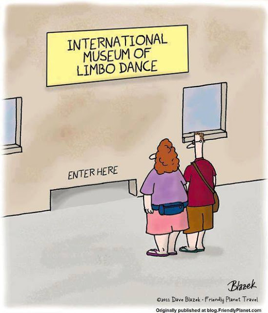Cartoon Of The Day: Limbo Museum