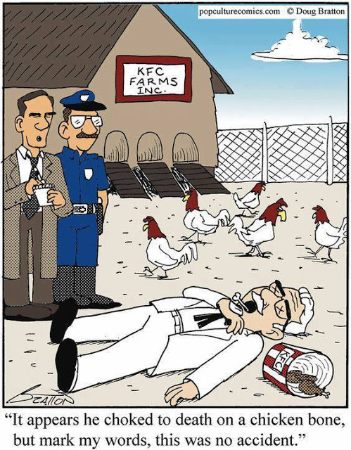 Cartoon Of The Day: Meanwhile At KFC Farms