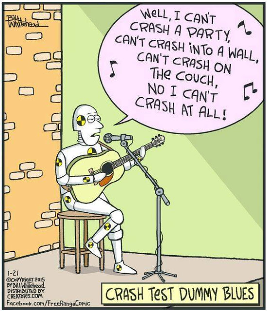 Cartoon Of The Day: Crash Dummy Blues