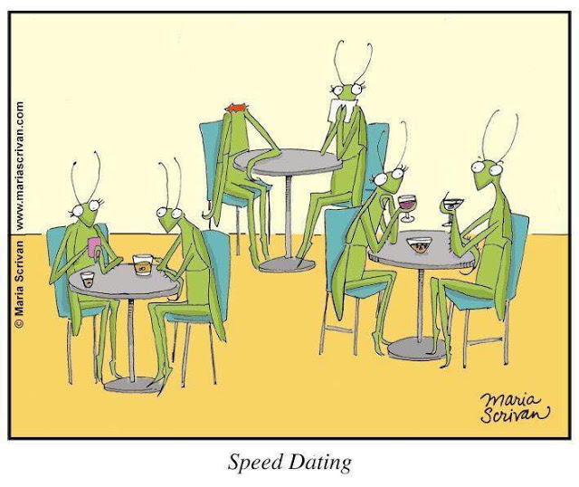Cartoon Of The Day: Speed Dating