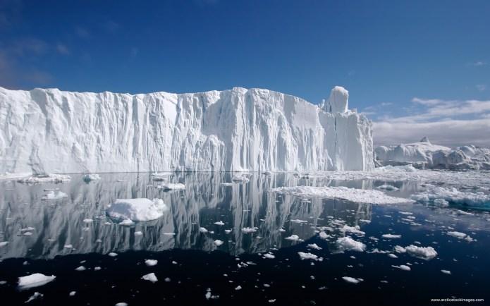 Global Warming Causing Melting Arctic Ice
