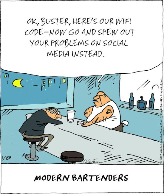 Cartoon Of The Day: Modern Bartenders
