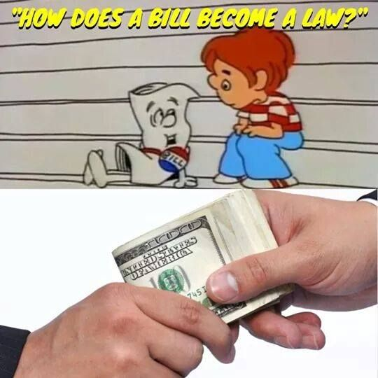 Poster Of The Day: How A Bill Becomes A Law