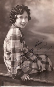 Helen Rillera, writer for the Philippines Mail, 1930s.