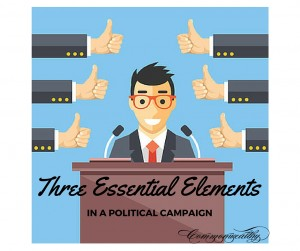 Three Essential Elements in a Political Campaign