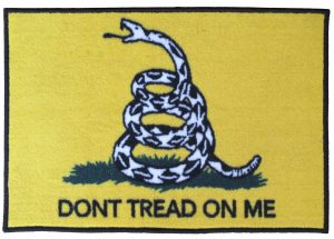 Don't Tread On Me accent