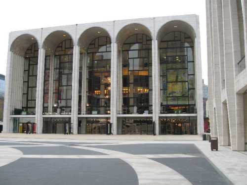 Metropolitan Opera, Lincoln Center, NYC