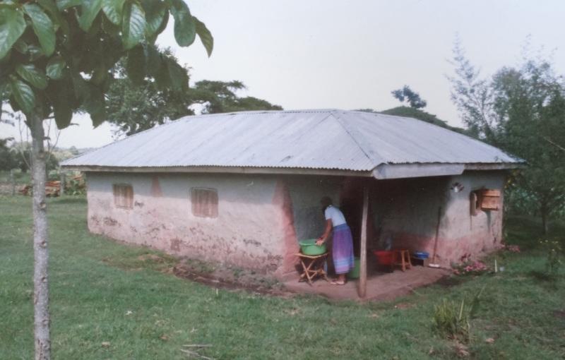 Betsy's mud hut