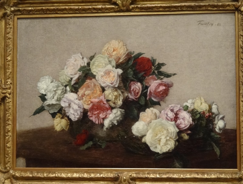 Bowl of Roses by Fantin-Latour