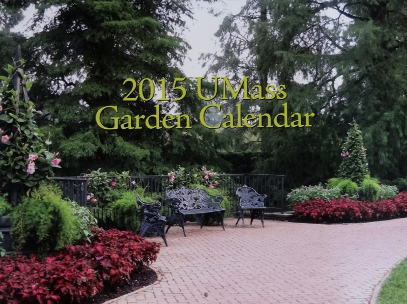 UMass Garden Calendar 2015