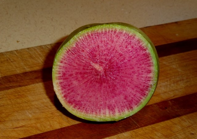 Beauty Heart or Watermelon radish