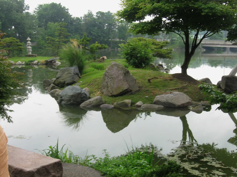 Mirror Lake, Japanese Garden in Buffalo NY